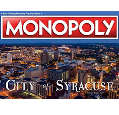 City of Syracuse MONOPOLY